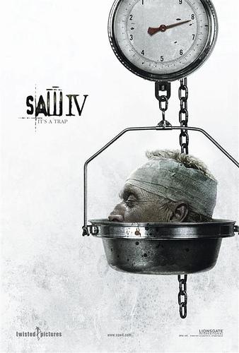 Saw 4, primer póster